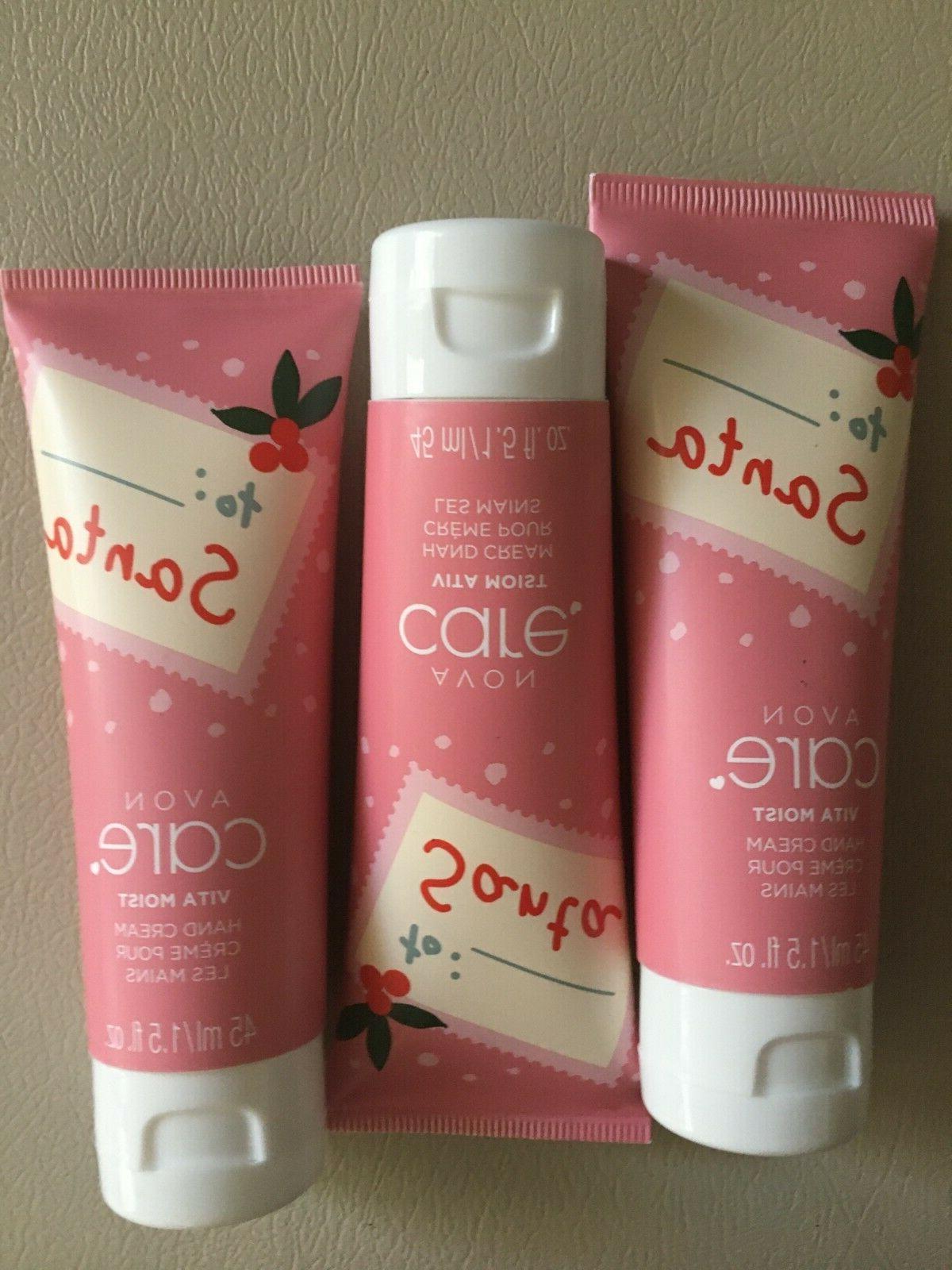 care vita moist holiday hand cream 1