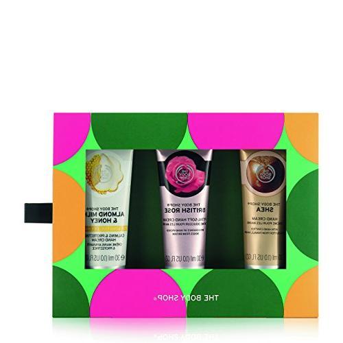 caring hand creams trio gift