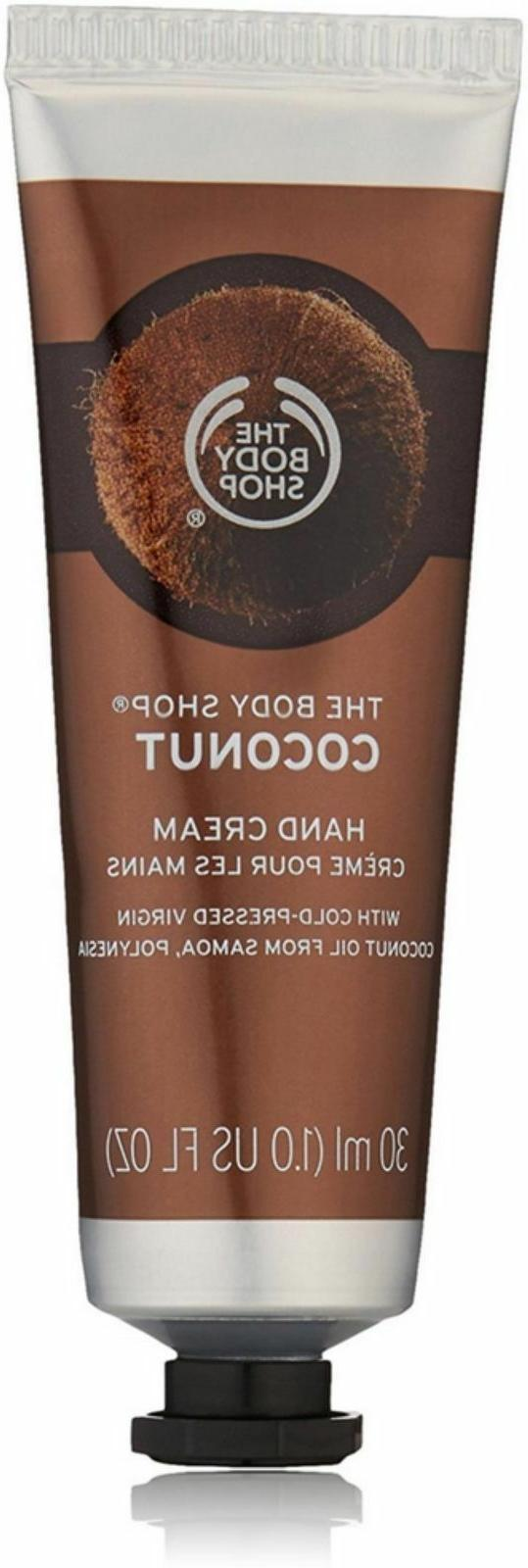 coconut hand cream 1 oz