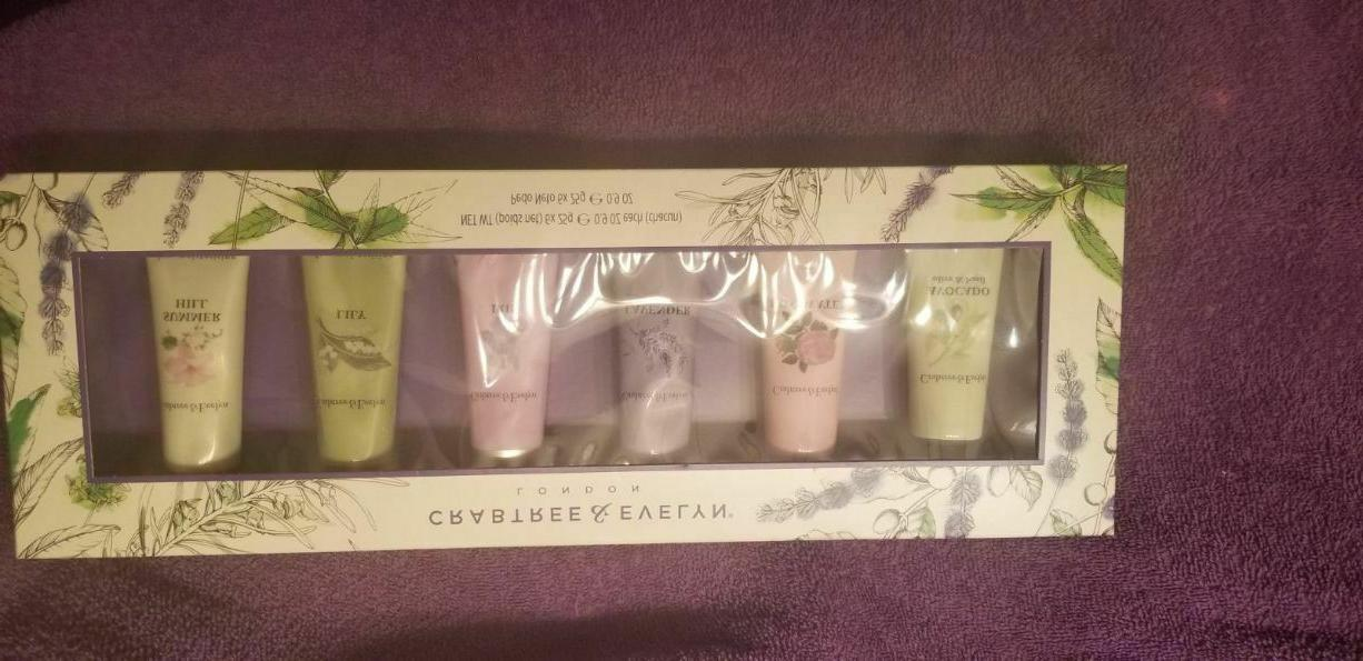 crabtree and evelyn 6 piece mini hand