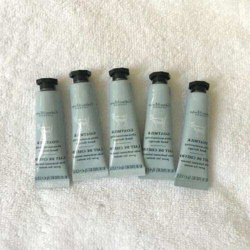 Crabtree & Evelyn Goatmilk Hand Therapy - Lot Of 5