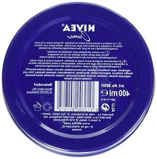 Nivea Creme 400ml Skin Hand Moisturizer Lotion 8.45oz