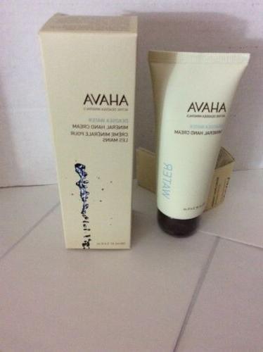 Ahava Dead Minerals Hand Sea Water 3.4oz 100 ml New Free