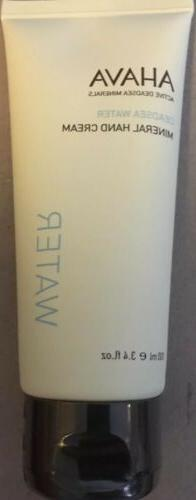 AHAVA Dead Sea Water Mineral Hand Cream 3.4 oz 100ml Sealed,
