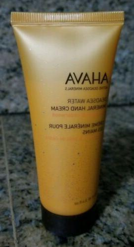 AHAVA Dead Sea water mineral hand cream 3.4 fl.oz 100ml New