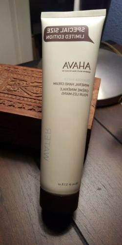 AHAVA Deadsea Water Mineral Hand Cream Special Size Limited