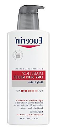 Eucerin Diabetics' Dry Skin Relief Body Lotion, 16.9 fl oz