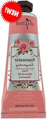 SFC Difeel Hand Cream, Rosewater, 1.4 Ounce