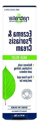 Natralia Eczema Cream, 2 Ounce - Relieves & Redness Eczema, Psoriasis &