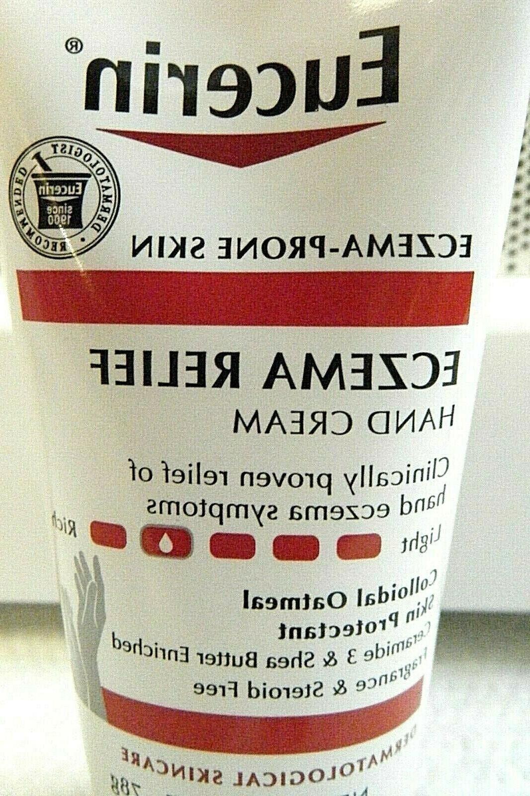 Eucerin Eczema Relief Cream Oatmeal Shea SHIPS FREE