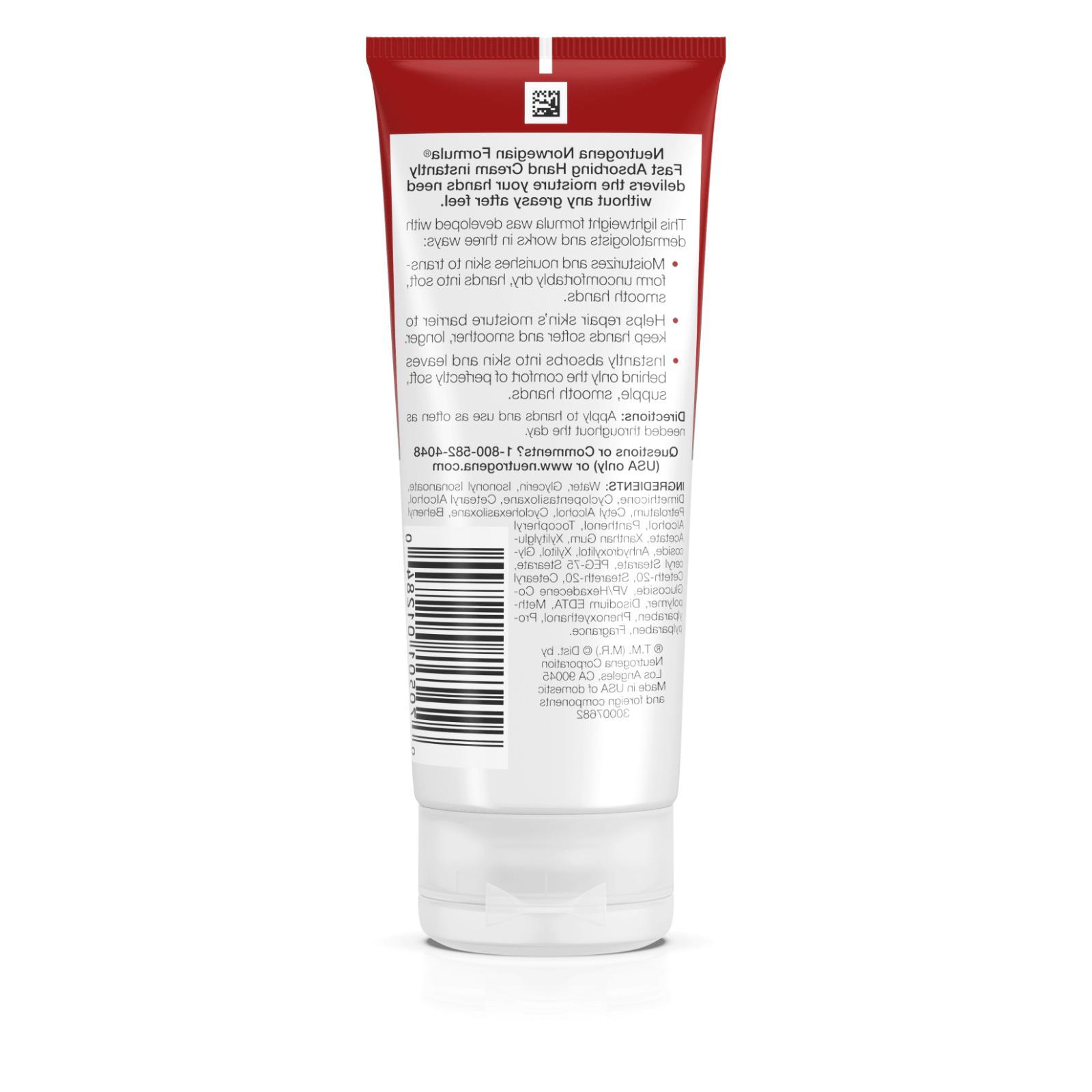 Neutrogena Hand Cream OZ., NEW