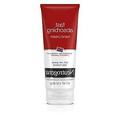 fast absorbing hand cream norwegian formula 3