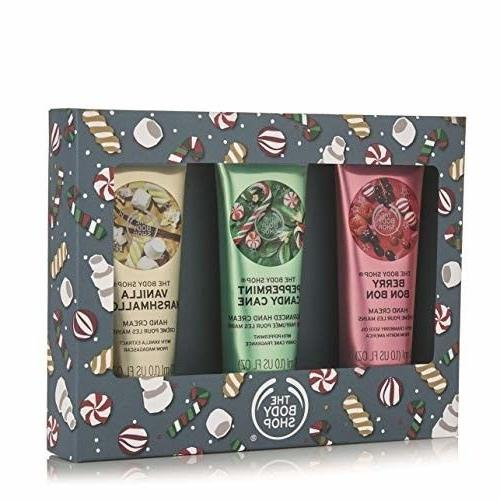 festive hand cream trio gift set