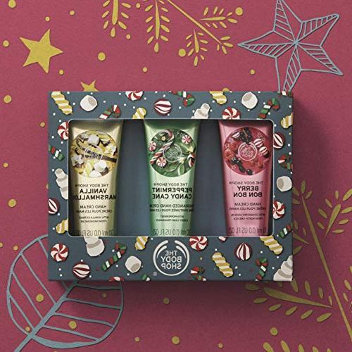 The Body Shop Festive Hand Cream Trio Set