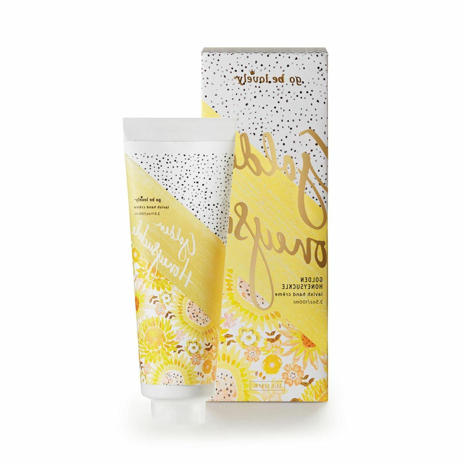 Illume Golden Honeysuckle Lavish Hand Cream