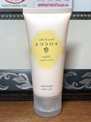TOCCA Hand Cream*LILIANA*Peach Muguet*Paraben Free*Coconut O