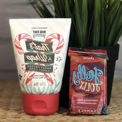hand cream thats a wrap candy cane