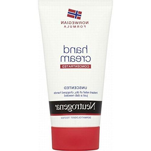 hand cream unscented