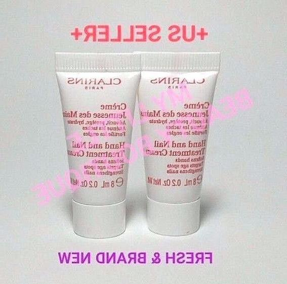 clarins HAND NAIL TREATMENT CREAM Softens Hands Strengthens
