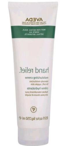 Aveda hand relief cream creme moisturizing 8.5 oz  250 ml Ba