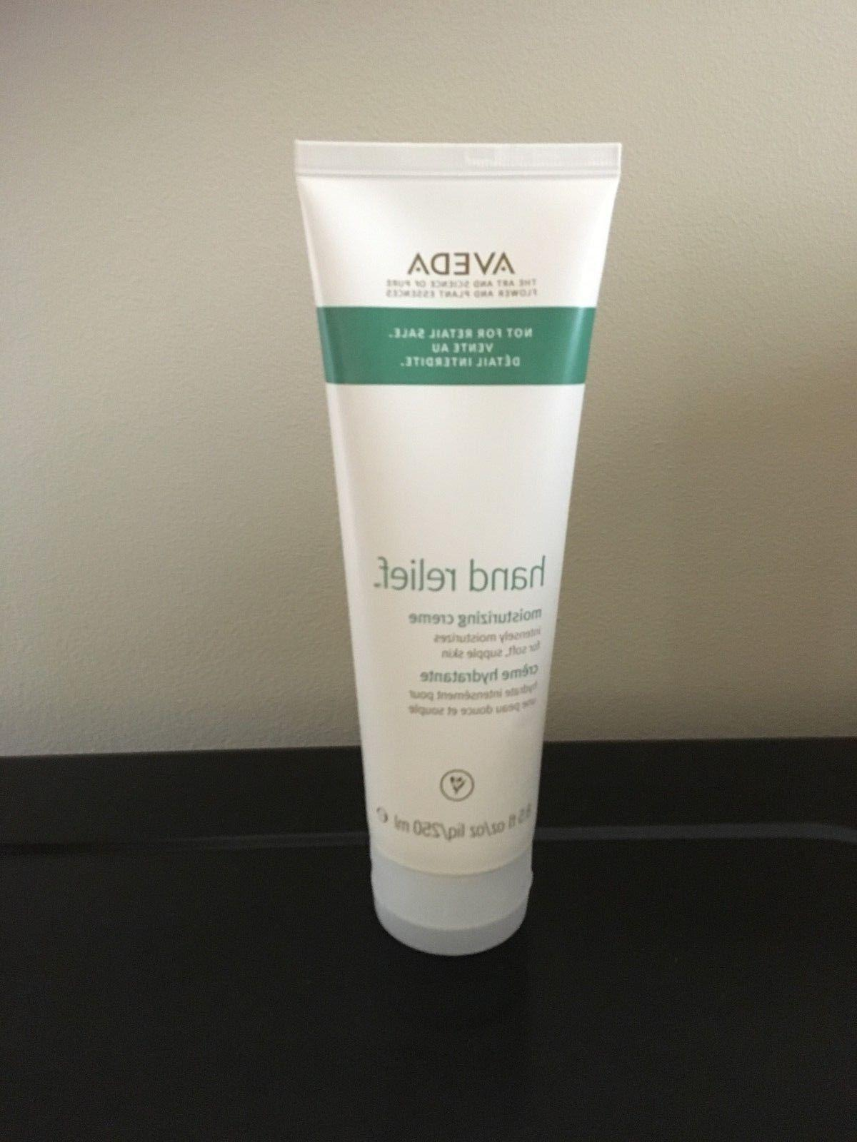 AVEDA HAND RELIEF MOISTURIZING CREAM  8.5 oz  250 ml   NEW!