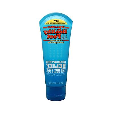 3oz Healthy Feet Cream Tube, 2 Pack