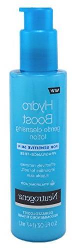 Neutrogena Hydro Boost Gentle Cleansing Lotion 5 Ounce Fragr