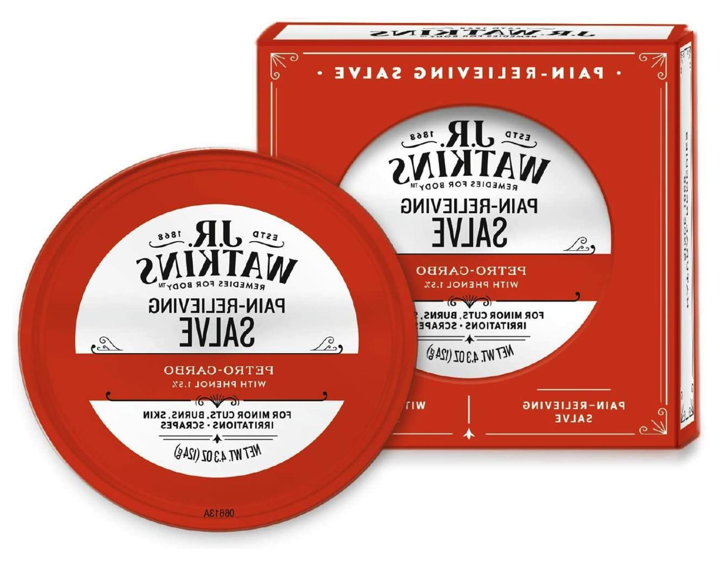 J.R. Carbo Medicated First Salve Relieving