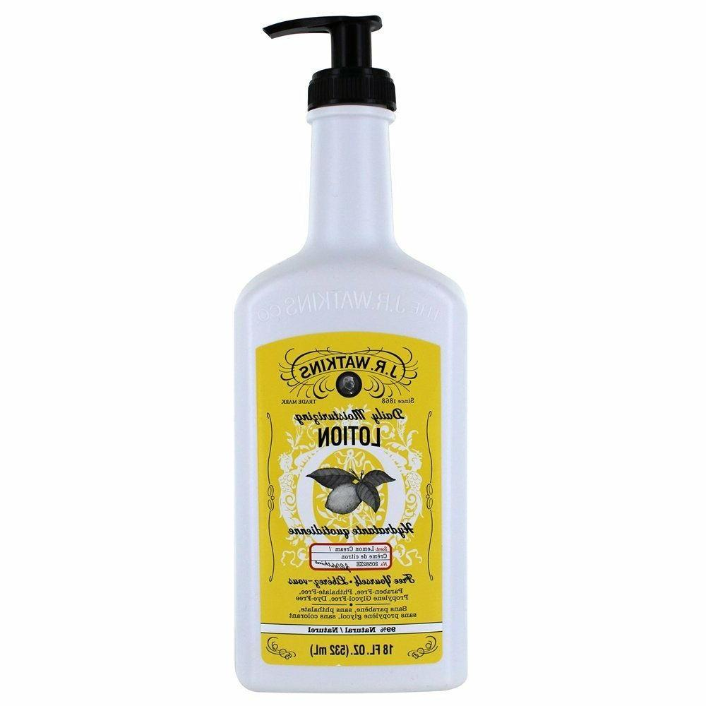 j r watkins lotion lemon cream 18oz