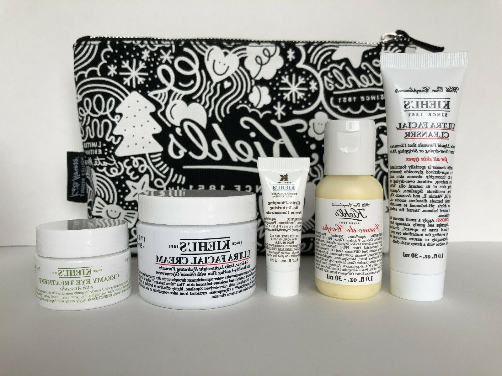 Kiehl's 6pc Ultra Facial Full Size Collection Sets *New*