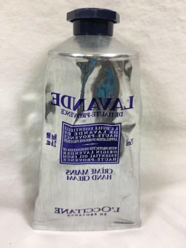 l occitane elegant and light lavender hand