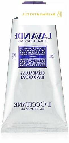 L'Occitane Elegant Light Lavender Hand Cream, 2.6 oz.