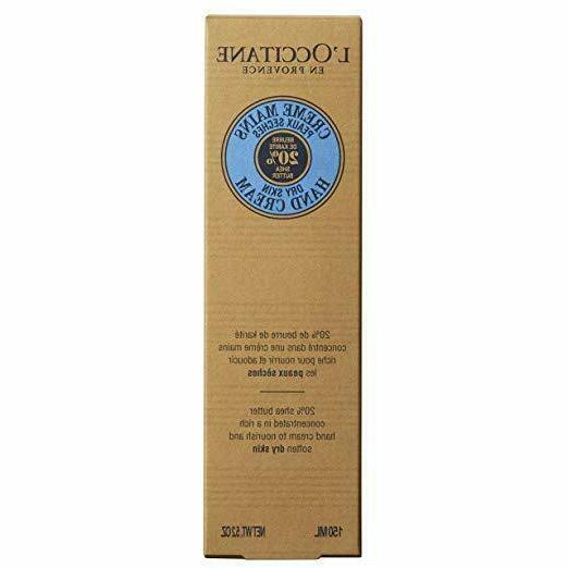 L'Occitane Cream • 150 • New • AUTHENTIC. DAMAGED OUTSIDE BOX