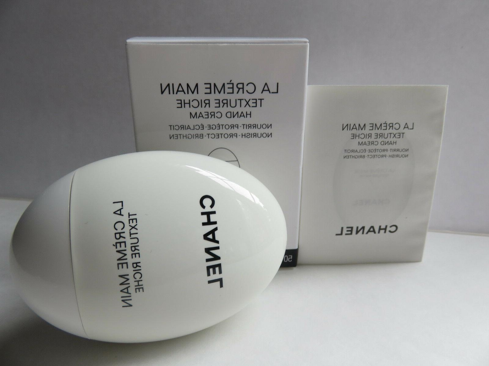 la creme main hand cream texture riche