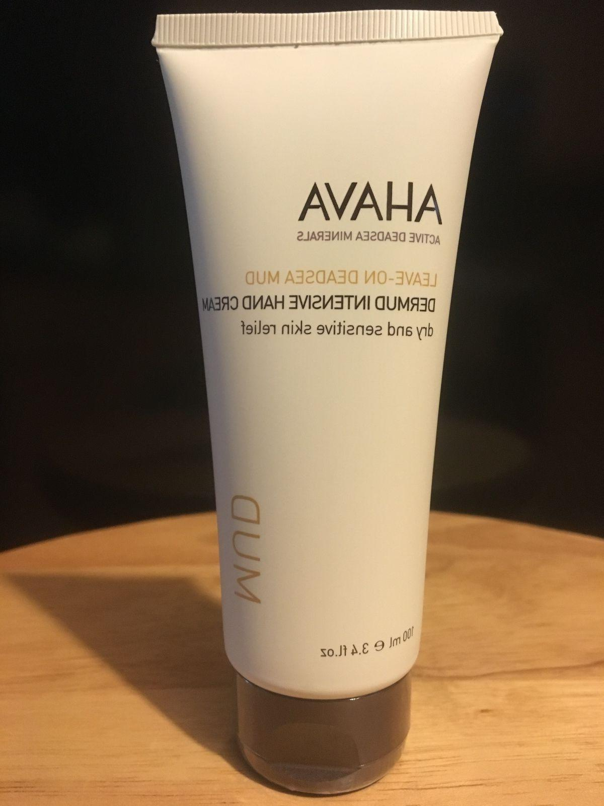 Ahava Leave-On DeadSea Mud Dermud Intensive Hand Cream 3.4 f