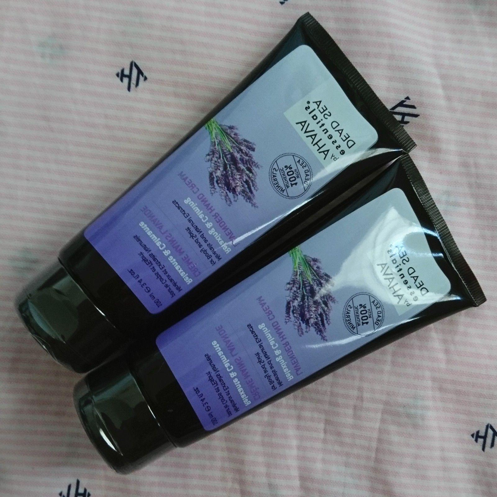 AHAVA FULL Lavender Coconut Hand Cream Each