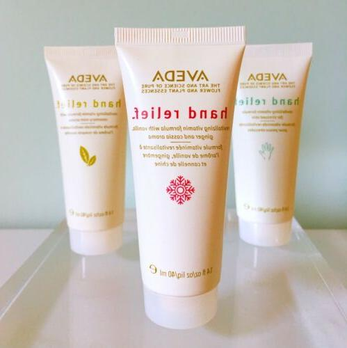 Lot of 3 Limited Edition Aveda Hand Relief Moisturizing Crea