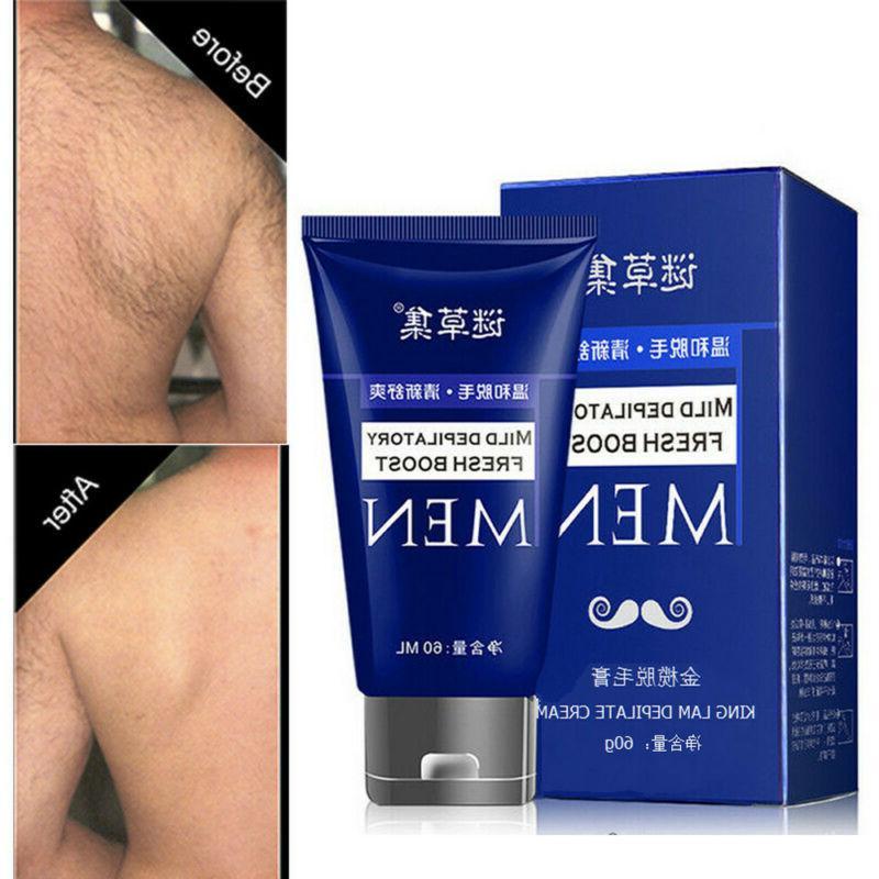 Man's Body Cream Hand Leg Removal