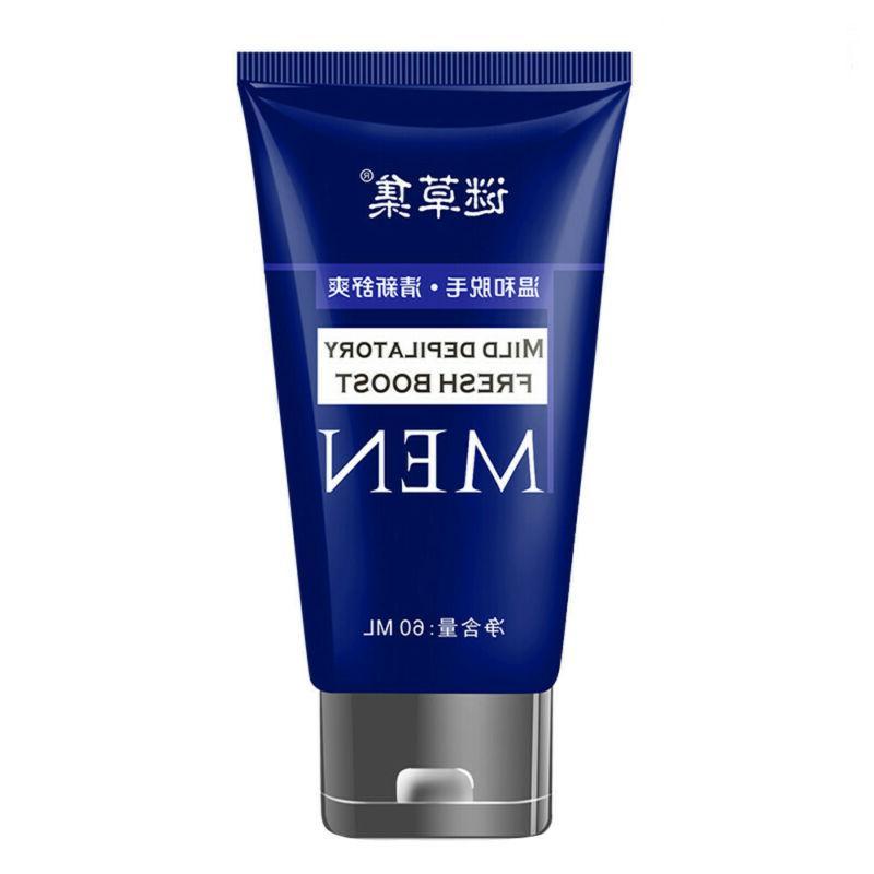 Man's Permanent Cream Leg Hair