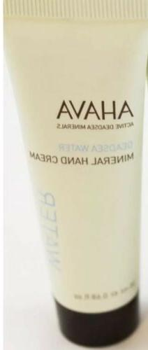 AHAVA Mineral Hand Cream Mini Travel Size New Dead Sea Water