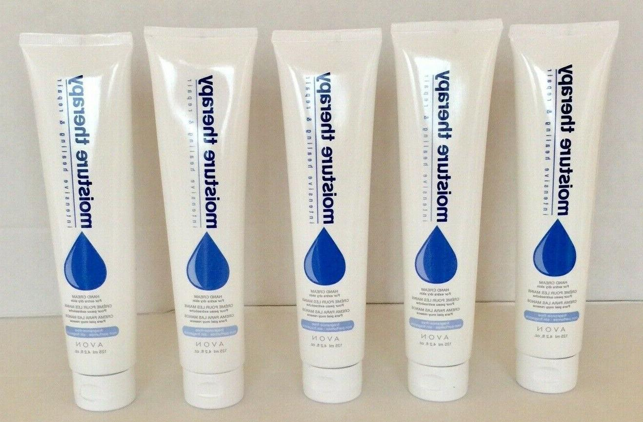 moisture therapy hand cream lot of 5