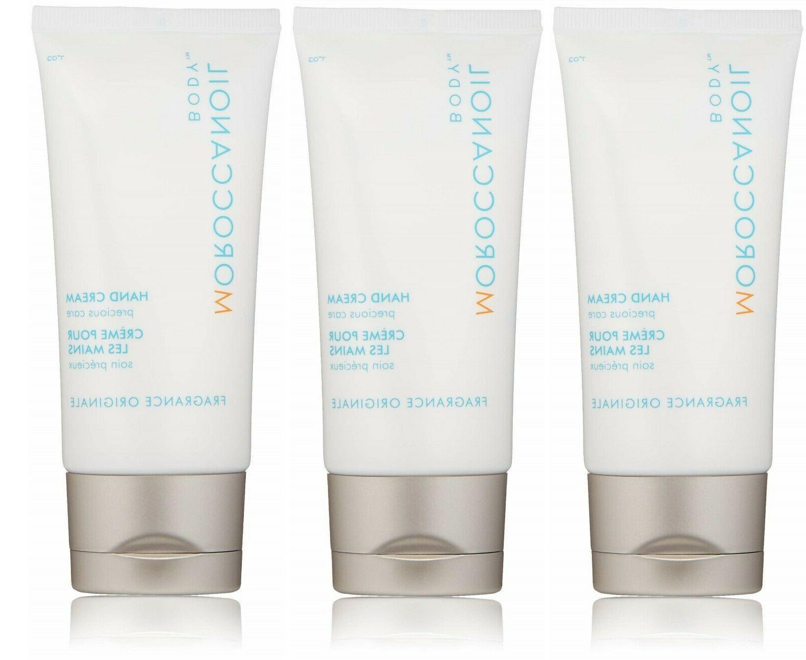 new 3 pack hand cream original fragrance