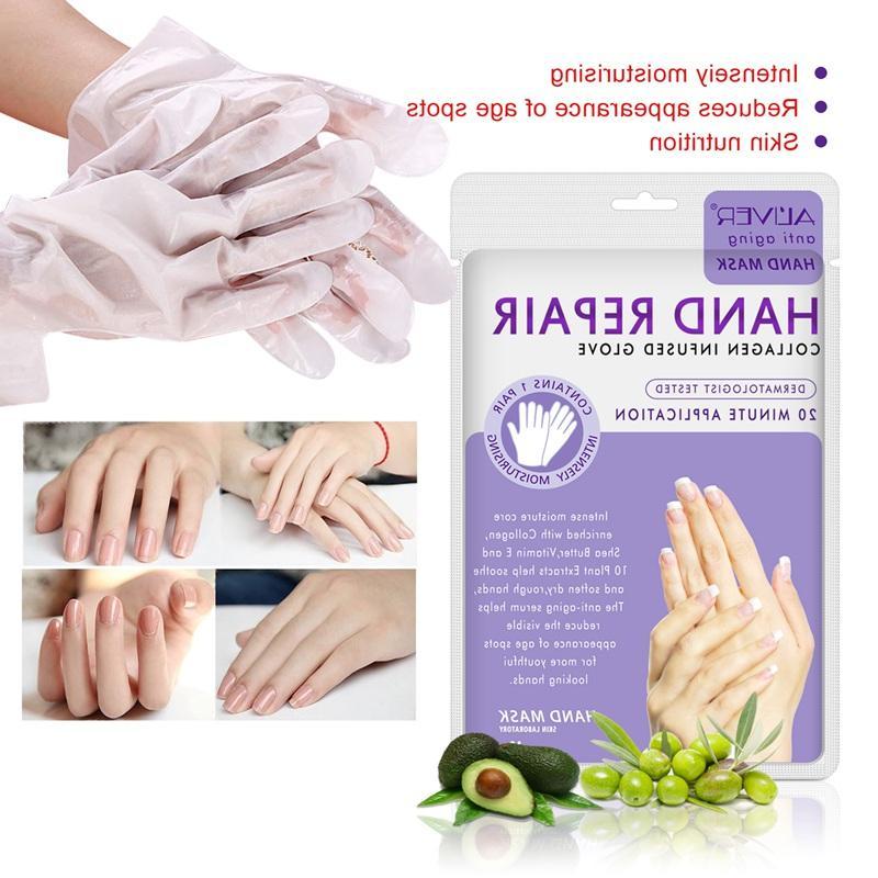 New Wax Exfoliating <font><b>Hands</b></font> Peeling Moisture Whitening <font><b>Cream</b></font> Gloves Skin Care