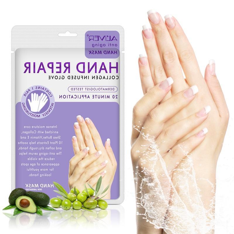 New <font><b>Hand</b></font> Mask Wax <font><b>Hands</b></font> Nourish Whitening <font><b>Cream</b></font> <font><b>Hands</b></font> Gloves Skin Care