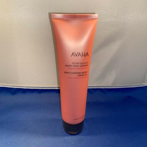 new sealed deadsea water mineral hand cream