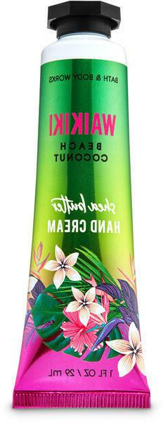 *NEW* WAIKIKI BEACH COCONUT Hand Cream 1 oz Bath & Body Work