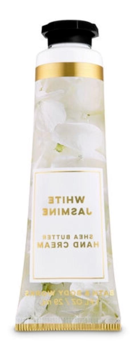 new white jasmine hand cream bath