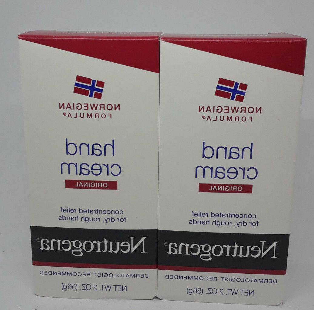 Neutrogena Norwegian formula hand cream original 2 oz tubes
