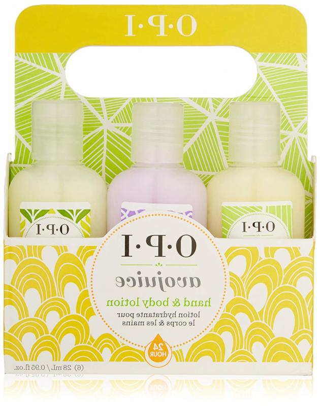 opi avojuice hand lotion minis sampler 6