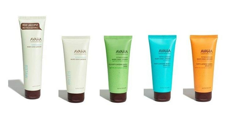Original AHAVA Dead Sea Mineral Hand Creams 3.4 or 5.1 oz Na